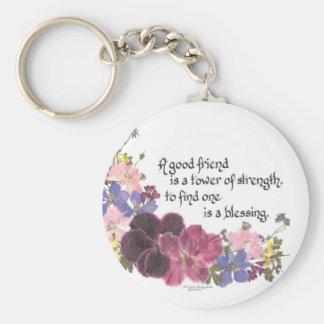 Porte-clés Bénédiction d'amitié