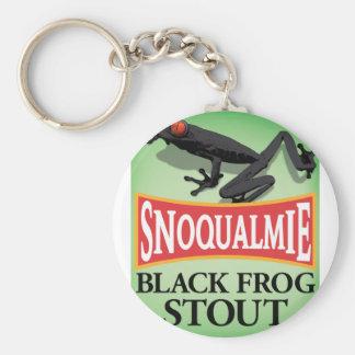 Porte-clés Bière de malt noire de grenouille