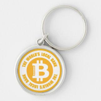 Porte-clés Bitcoin la banque locale des mondes