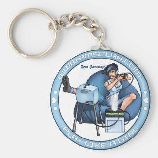 Porte-clés Bleu 2 de boite de Pandore de Porte - clé de PMS