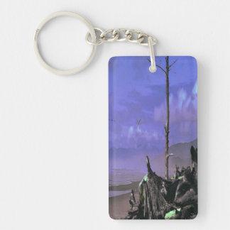 Porte-clés Bois de flottage sur la plage