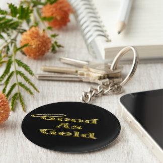 Porte-clés Bon comme or