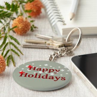 Porte-clés Bonnes fêtes