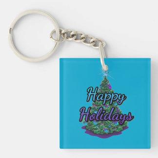 Porte-clés Bonnes fêtes porte - clé