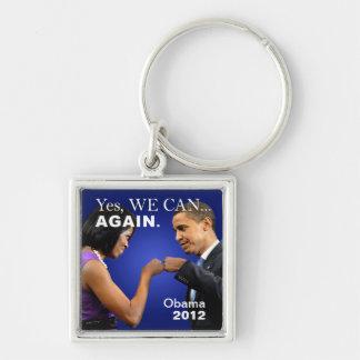 Porte-clés Bosse de poing d'Obama - oui nous pouvons encore