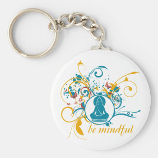 Porte-clés Bouddha soit conscient