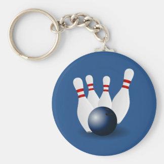 Porte-clés Boule de bowling et porte - clé Animated de