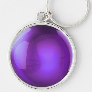 Porte-clés Boule de cristal pourpre