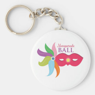 Porte-clés Boule de mascarade