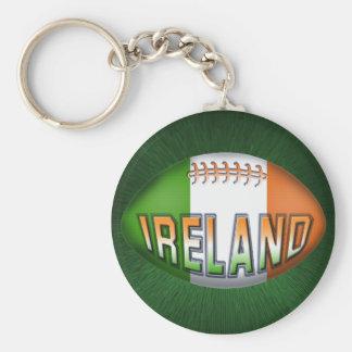 Porte-clés Boule de rugby de l'Irlande