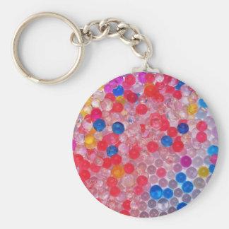 Porte-clés boules transparentes de l'eau