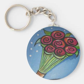 Porte-clés bouquet