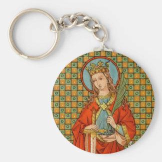 Porte-clés Bouton de base de St Barbara (JP 01)
