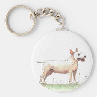 Porte-clés Bull-terrier anglais
