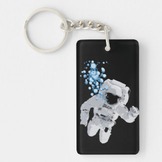 Porte-clés Bulles dans l'espace - l'espace bouillonne PORTE -