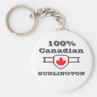 Porte-clés Burlington 100%