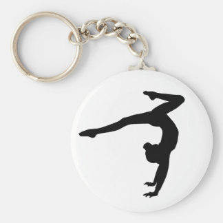 Porte-clés Cadeaux d'appui renversé de mâle de gymnaste
