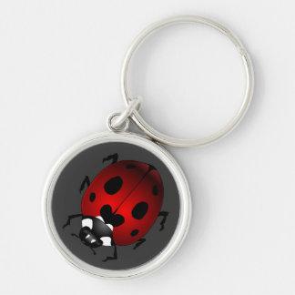 Porte-clés Cadeaux de coccinelle de souvenir d'insecte de