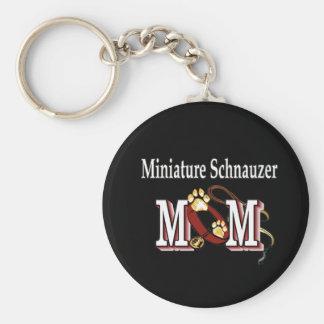 Porte-clés Cadeaux de MAMAN de Schnauzer miniature