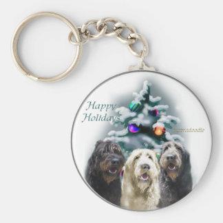 Porte-clés Cadeaux de Noël de Labradoodle