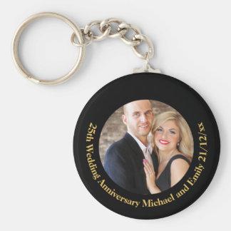 Porte-clés Cadeaux de porte - clé d'anniversaire de mariage