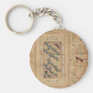 Porte-clés Calligraphie persane par Mir Ali Tabrizi