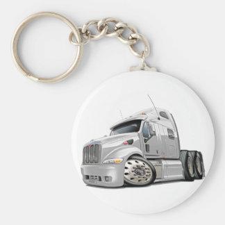 Porte-clés Camion de blanc de Peterbilt