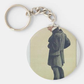 Porte-clés Caricature de M. George Leeman M.P. James Tissot