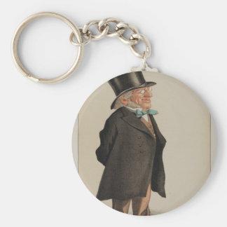 Porte-clés Caricature des hommes d'état No.1310 de monsieur