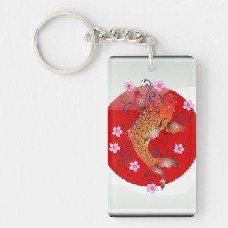 Porte-clés Carpe japonaise de koi