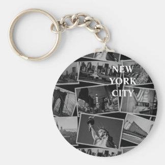 Porte-clés Cartes postales de porte - clé de NY