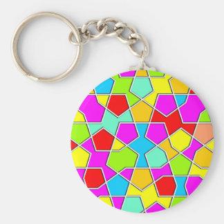Porte-clés CCB géométrique religieux islamique de motif de