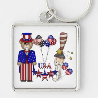 Porte-clés Célébration des Etats-Unis