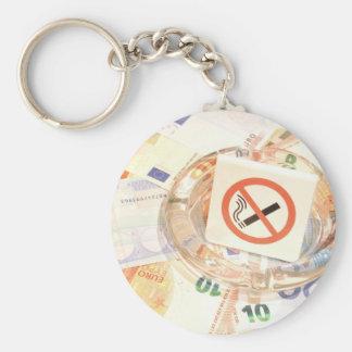 Porte-clés Cessez le tabagisme