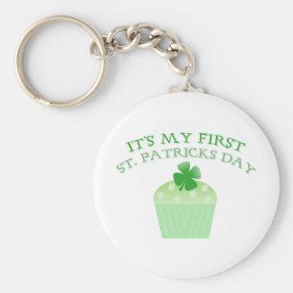 Porte-clés C'est le jour de mon premier St Patrick