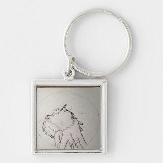 Porte-clés Chaîne de loup