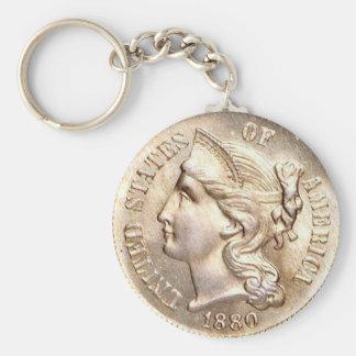 Porte-clés Chaîne principale de morceau de trois cents