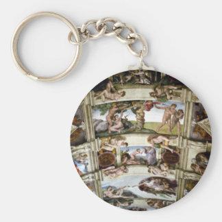 Porte-clés Chapelle de Sistine, Vatican, Rome, Italie