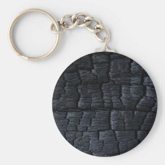 Porte-clés Charbon noir