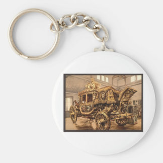 Porte-clés Charles X, chariot, Versailles, France