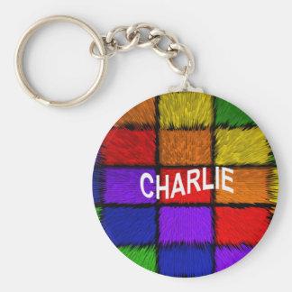 PORTE-CLÉS CHARLIE