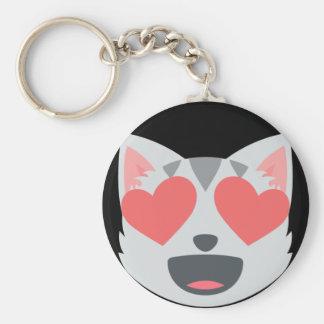Porte-clés Chat affectueux Emoji