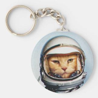 Porte-clés Chat de l'espace