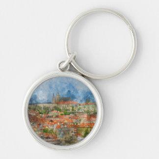 Porte-clés Château de Prague dans la République Tchèque