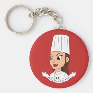 Porte-clés Chef fait sur commande de fille