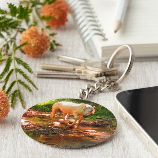 Porte-clés Cheval quart de palomino