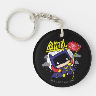 Porte-clés Chibi Batgirl prêt pour l'action