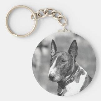 Porte-clés Chien de bull-terrier
