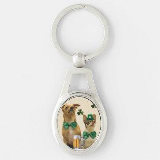 Porte-clés Chiens du chiwawa de St Patrick