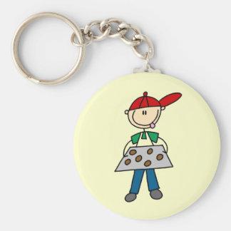 Porte-clés Chiffre biscuits de bâton de cuisson